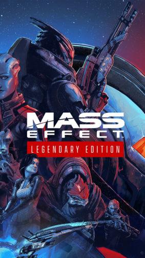 Mass Effect Legendary Edition Game Poster 4K Ultra HD Mobile Wallpaper