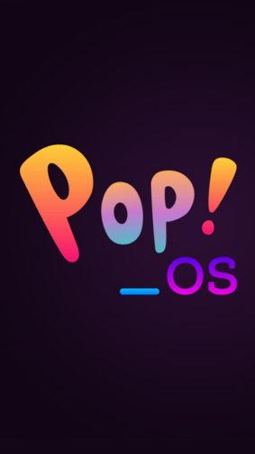 Pop OS Linux Logo 4K Ultra HD Mobile Wallpaper