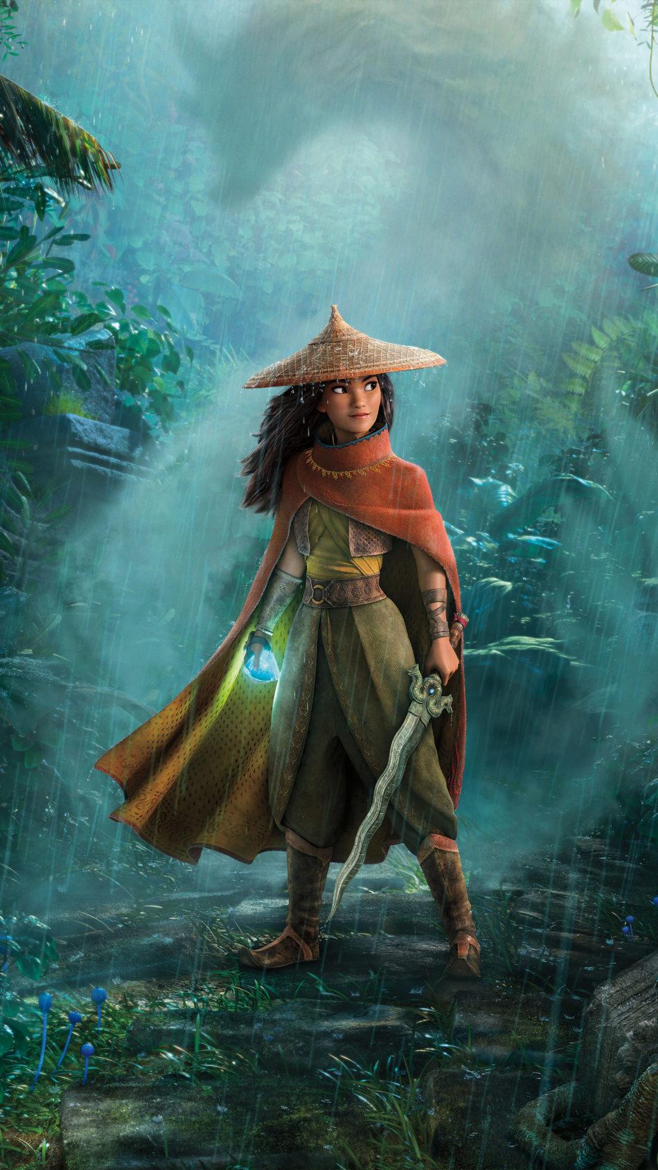Raya And The Last Dragon 2021 Poster 4K Ultra HD Mobile Wallpaper
