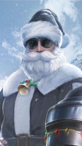 Santa Claus PUBG Mobile 4K Ultra HD Mobile Wallpaper