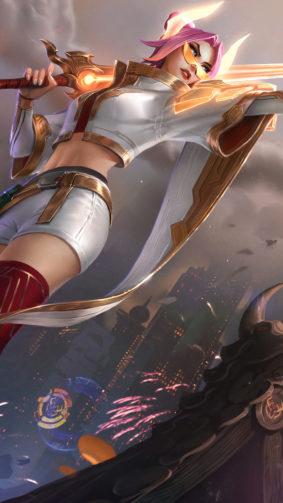Fiora From League of Legends 2021 4K Ultra HD Mobile Wallpaper