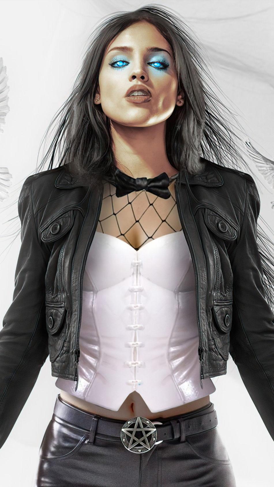 Eiza Gonzalez As Zatanna 4K Ultra HD Mobile Wallpaper
