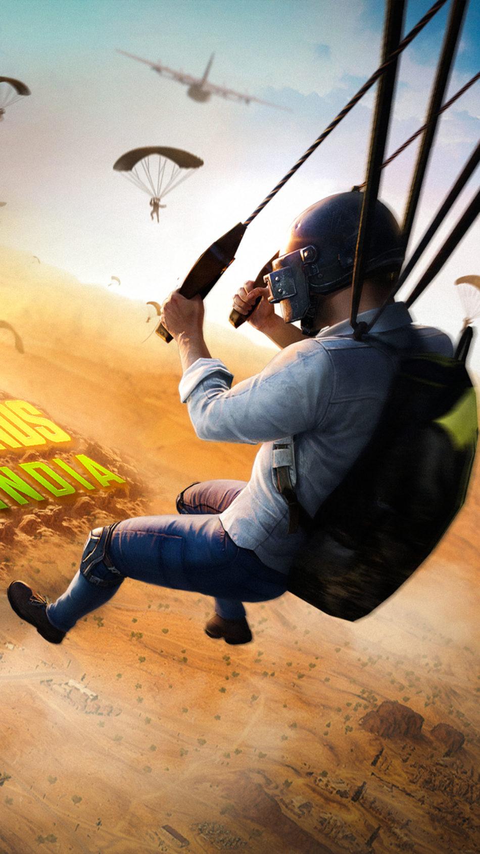 Battlegrounds Mobile India Poster 4K Ultra HD Mobile Wallpaper