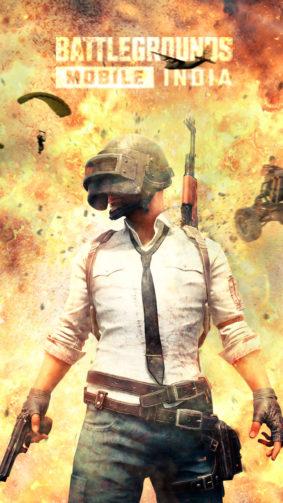 Helmet Guy Battlegrounds Mobile India 4K Ultra HD Mobile Wallpaper