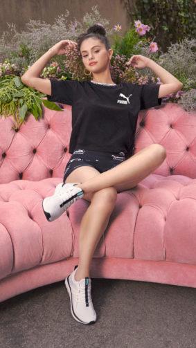 Selena Gomez Puma 2021 4K Ultra HD Mobile Wallpaper