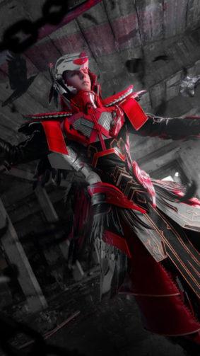 The Blood Raven X Suit PUBG Mobile 4K Ultra HD Mobile Wallpaper