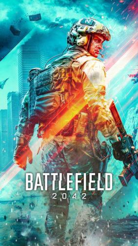 Battlefield 2042 Game Poster 4K Ultra HD Mobile Wallpaper