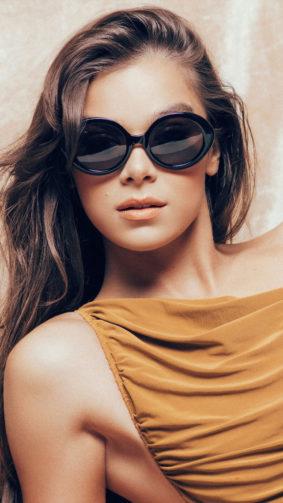 Hailee Steinfeld Sun Glass 2021 Photoshoot 4K Ultra HD Mobile Wallpaper