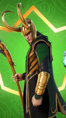 Loki Fortnite 4K Ultra HD Mobile Wallpaper