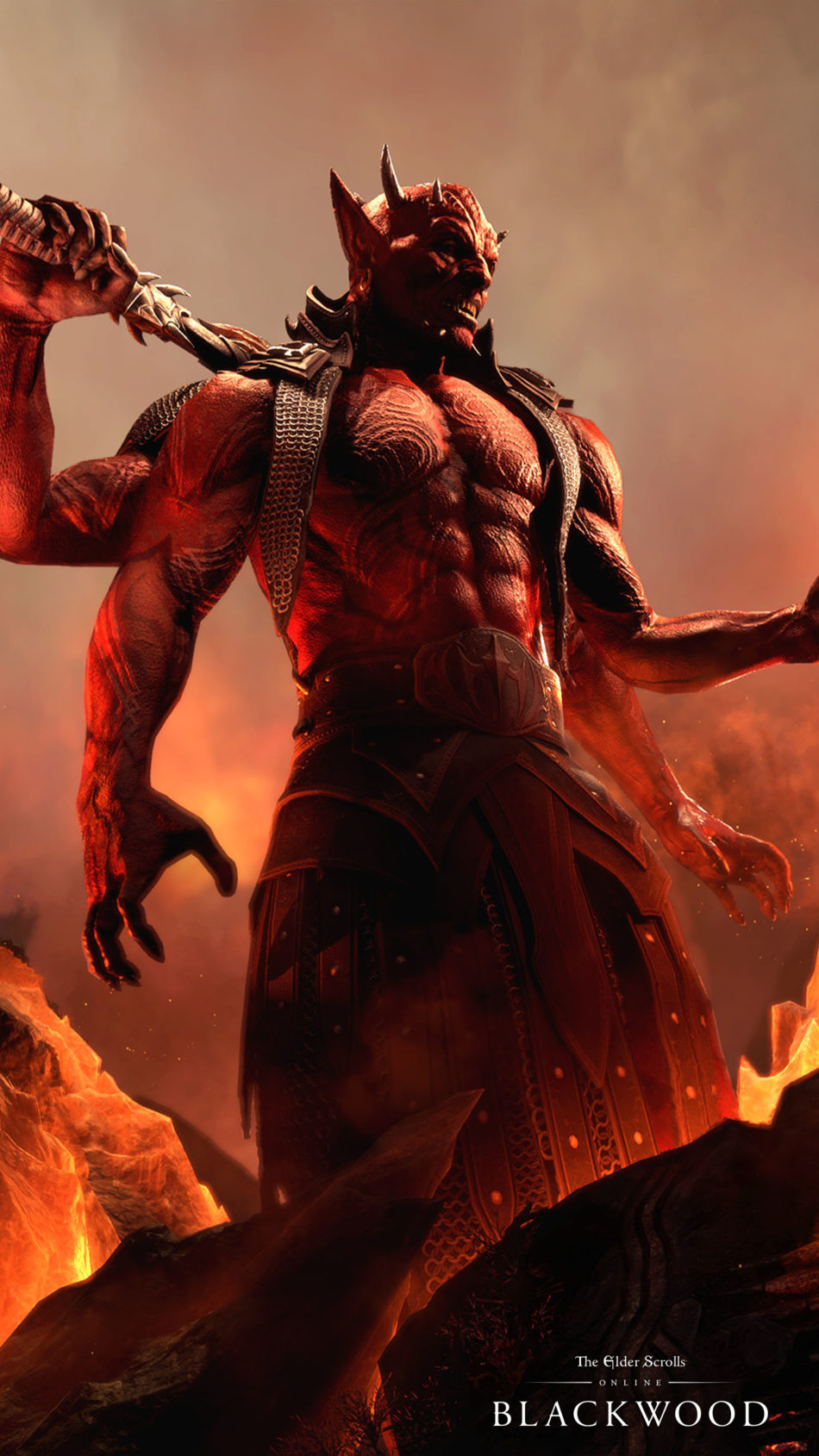 The Elder Scrolls Online - Blackwood Game Monster 4K Ultra HD Mobile Wallpaper