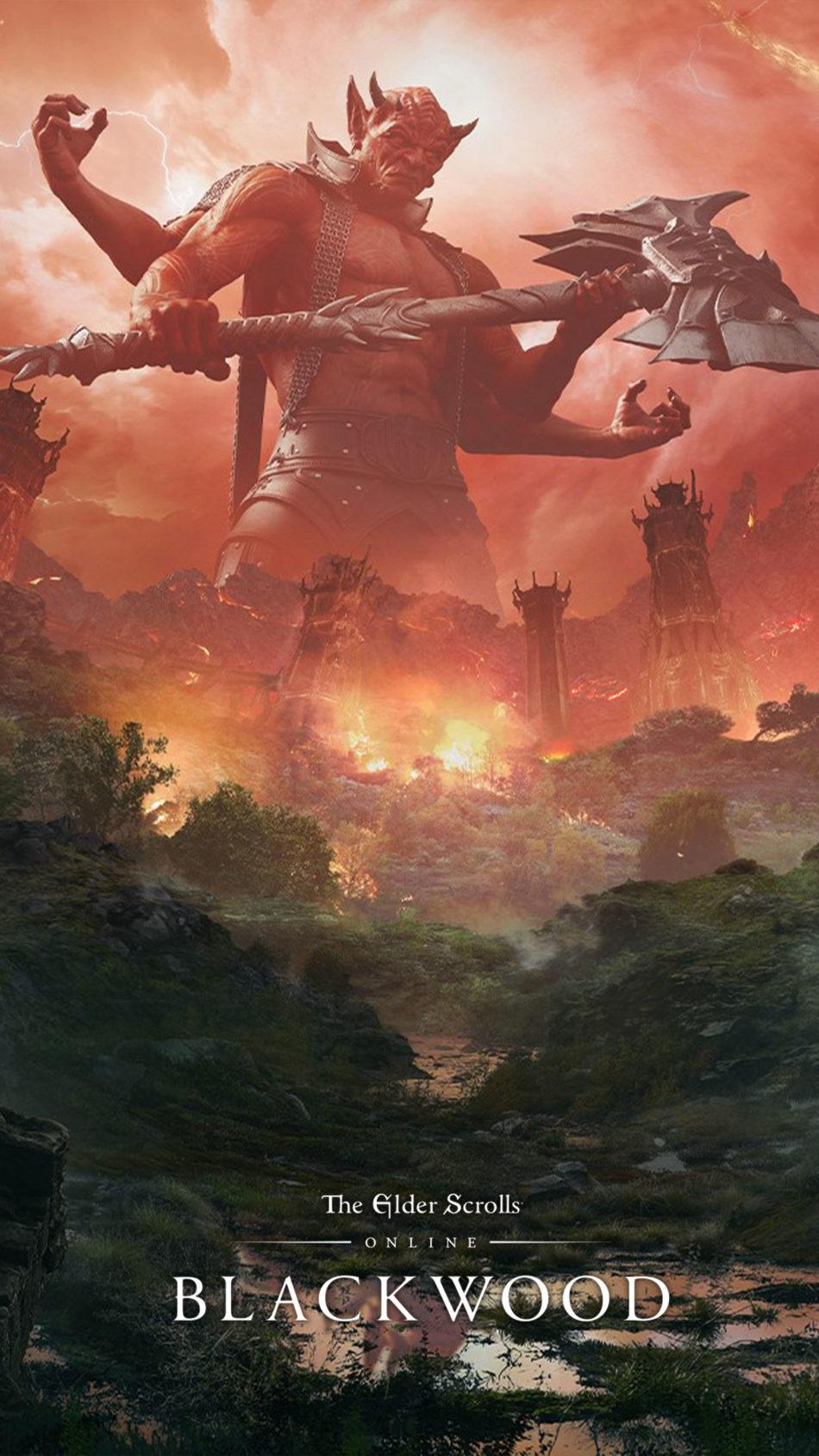 The Elder Scrolls Online - Blackwood Game Poster 4K Ultra HD Mobile Wallpaper