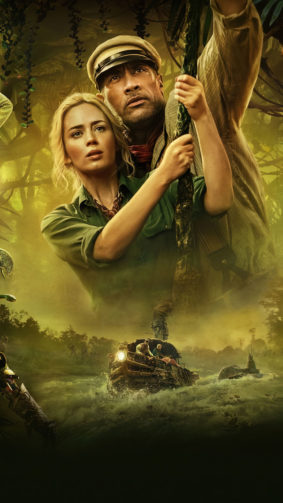 Dwayne Johnson And Emily Blunt In Jungle Cruise 4K Ultra HD Mobile Wallpaper