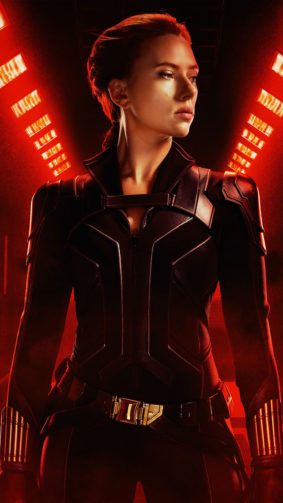 Scarlett Johansson Black Widow 2021 4K Ultra HD Mobile Wallpaper