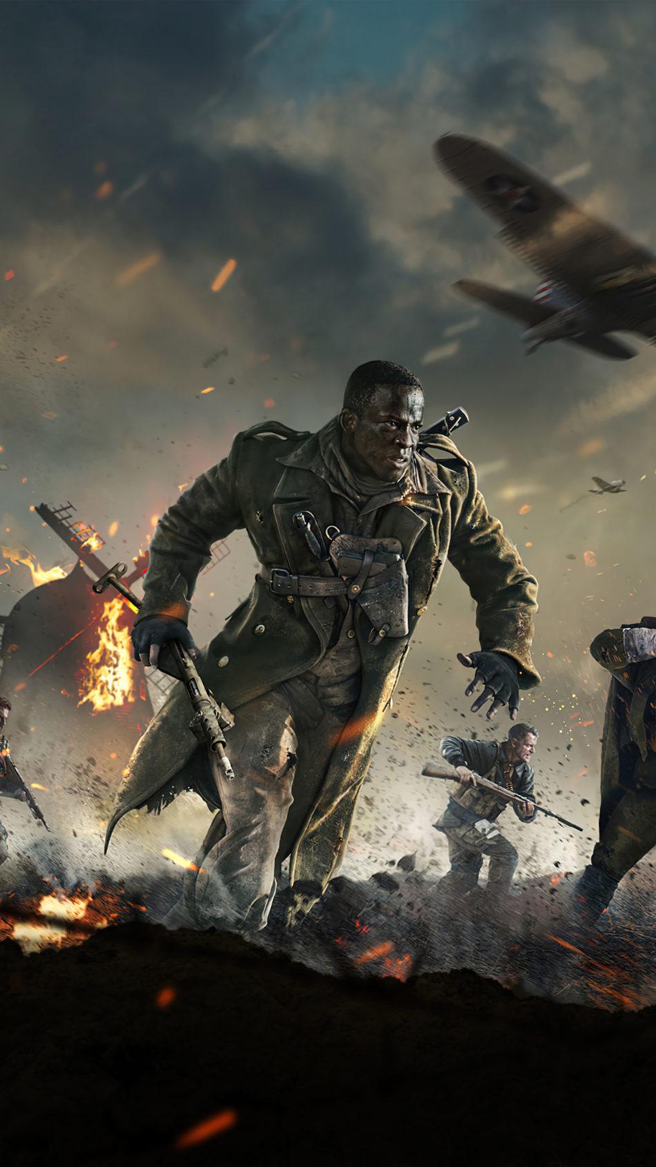 Call of Duty Vanguard Game 2021 4K Ultra HD Mobile Wallpaper