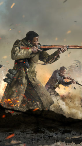 Call of Duty Vanguard Game Poster 4K Ultra HD Mobile Wallpaper