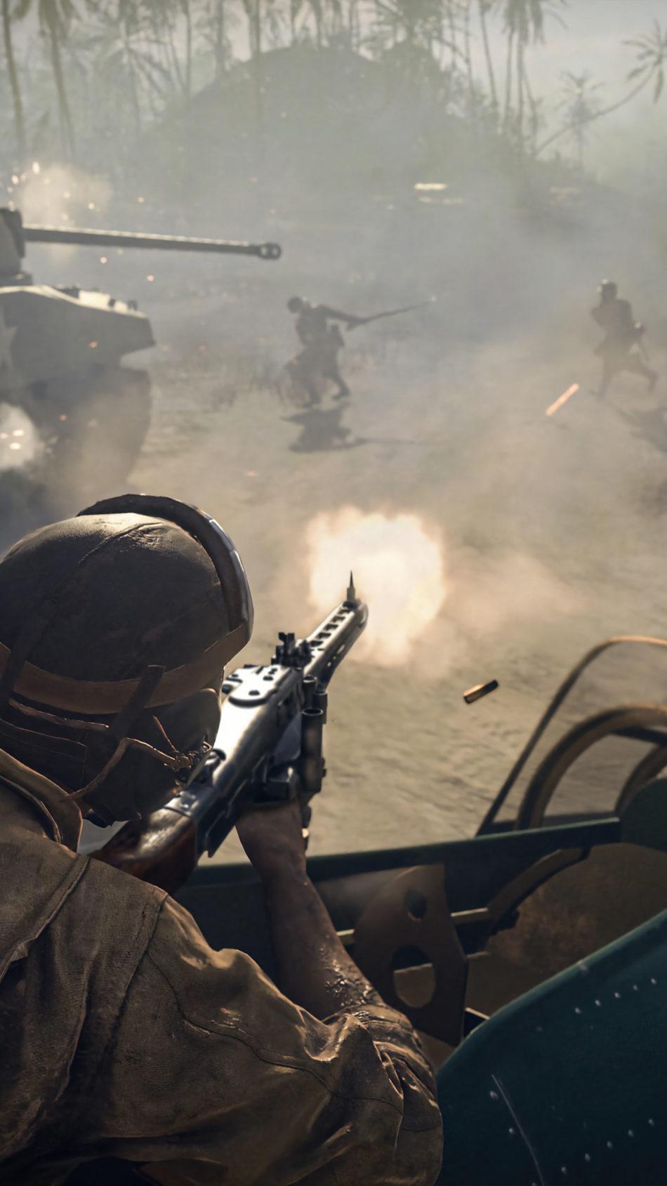 Call of Duty Vanguard Gameplay 4K Ultra HD Mobile Wallpaper