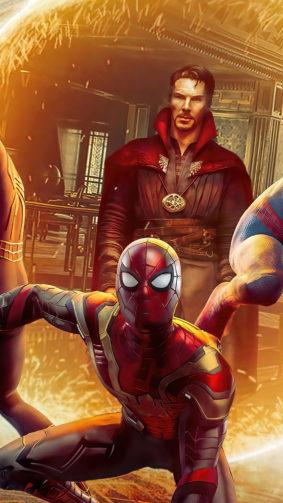 Doctor Strange In Spider-Man No Way Home 4K Ultra HD Mobile Wallpaper
