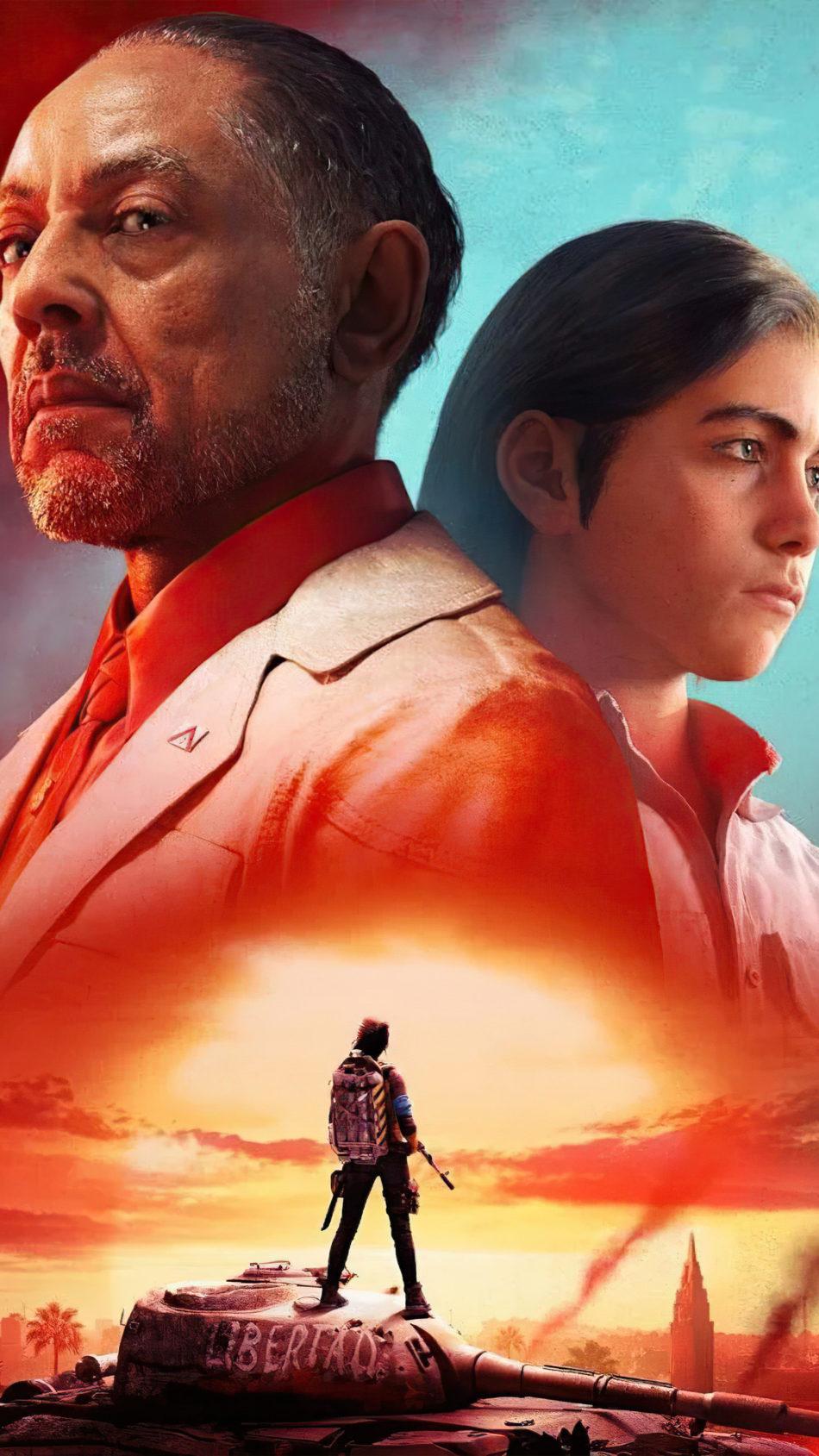 Far Cry 6 Poster 2021 4K Ultra HD Mobile Wallpaper