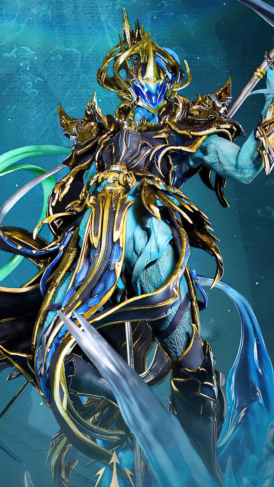 Poseidon X-Suit PUBG Mobile 4K Ultra HD Mobile Wallpaper