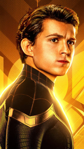 Tom Holland In Spider-Man No Way Home 4K Ultra HD Mobile Wallpaper
