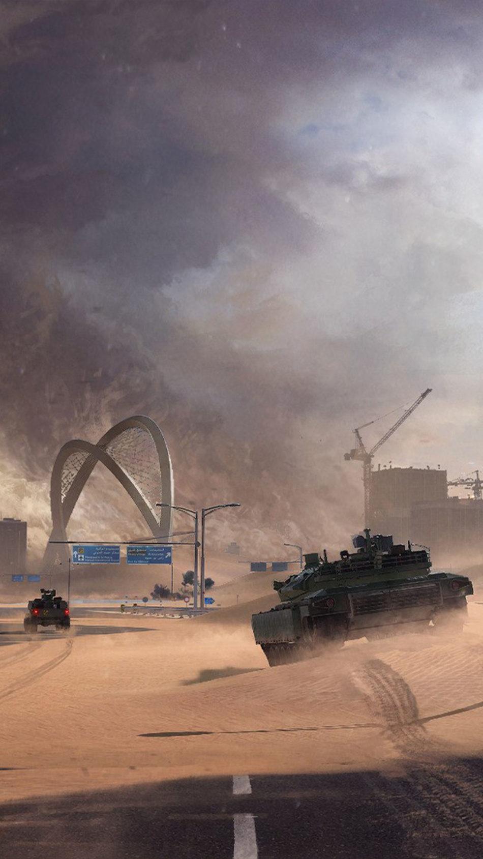 War Tanks Battlefield 2042 4K Ultra HD Mobile Wallpaper